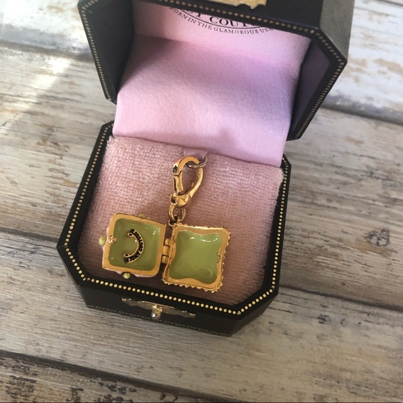 Juicy Couture Jewelry - Juicy Couture Chocolate Cupcake Box Locket Charm